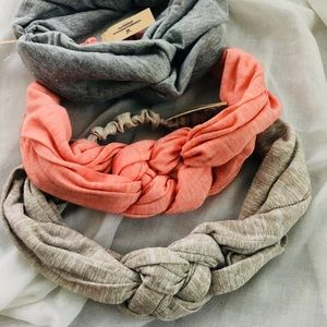 American Eagle Outfitters 3 Headband Headwrap Set